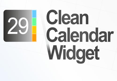 Clean Calendar Widget - Android Widget
