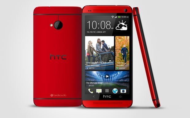 HTC One Red - Rosso