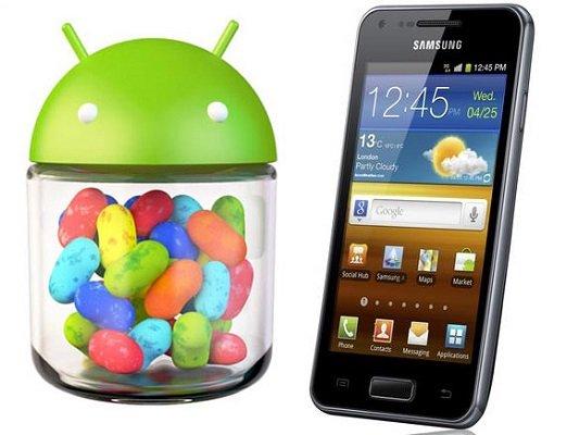 Samsung Galaxy S Advance Jelly Bean