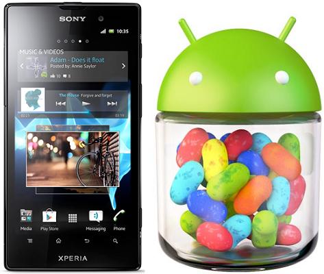 Sony Xperia Ion Android 4.1.2 Jelly Bean 6.2.B.0.211