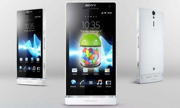Sony Xperia S Jelly Bean Android 4.1.2