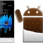 Sony Xperia U Ice Cream Sandwich 6.1.1.B.1.100