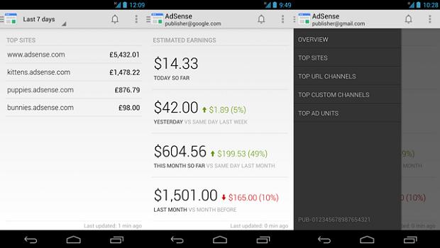 Google AdSense App Android