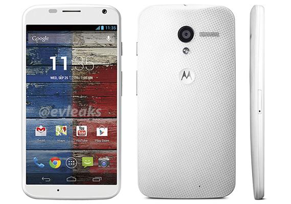 Motorola Moto X Bianco