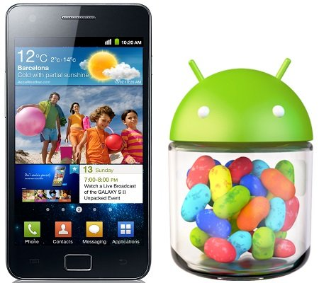 Samsung Galaxy S2 Android 4.2 Jelly Bean