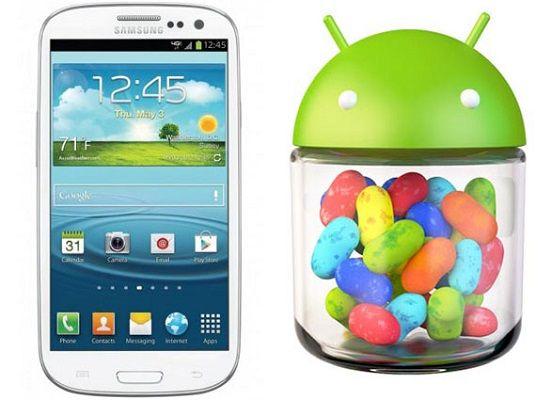 Samsung Galaxy S3 riceve l'aggiornamento I9300XXEMF6