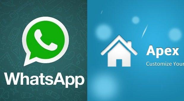 WhatsApp-Messenger - Apex Launcher