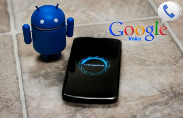 google voice cyanogenmod