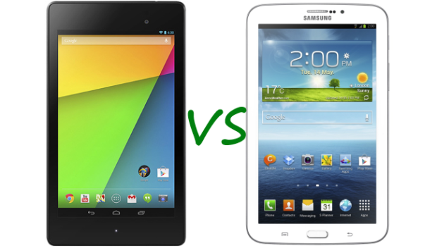 nuovo nexus 7 vs galaxy tab 3 7.0