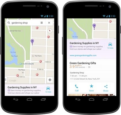 Android - Maps - 4.3 - 5.0