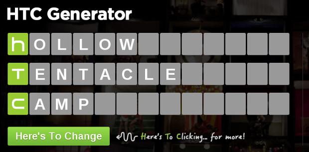 HTC Generator