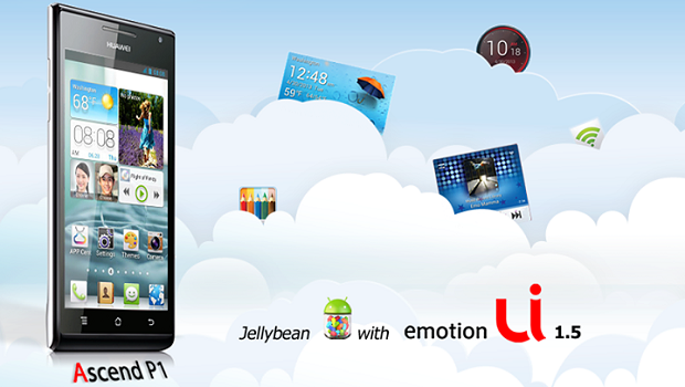 Huawei Ascend P1 Jelly Bean