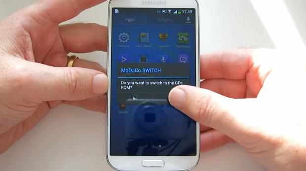 MoDaCo SWITCH Samsung Galaxy S4