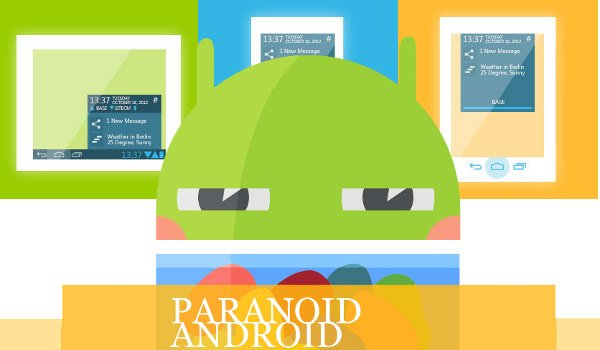 Paranoid Android 3.91 Android 4.3