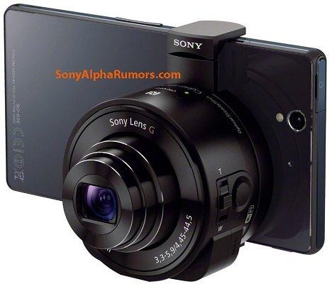Sony, prime immagini della Fotocamera esterna per smartphone