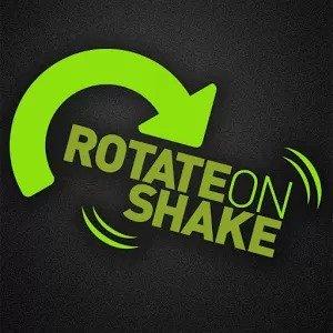 Rotate on Shake Ruota Schermo