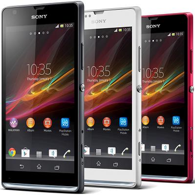 Sony Xperia SP riceve l'aggiornamento 12.0.A.2.245