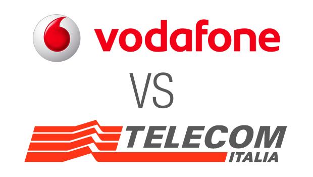 Vodafone vs Telecom Italia