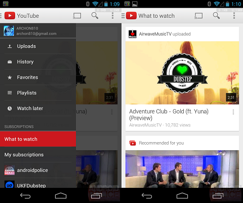 YouTube 5.0 Download APK Android