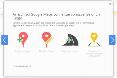 Google maps maker italia