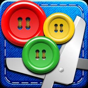 Bottoni e Forbici-icona