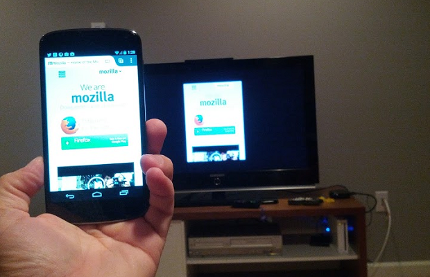 Firefox Android Mirroring Chromecast
