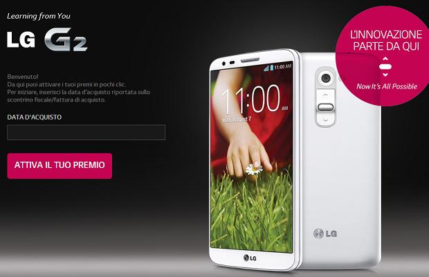 LG G2 Promo