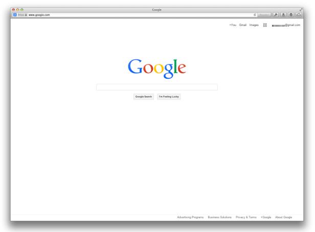 Nuova Homepage Google