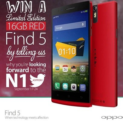 Oppo N1 Rosso