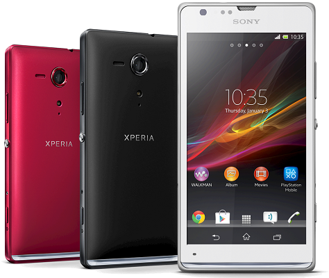 Sony Xperia SP 12.0.A.2.254