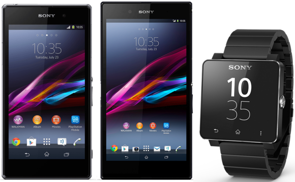 Sony Xperia Z1 e Z Ultra disponibili su Expansys it con lo Smartwatch