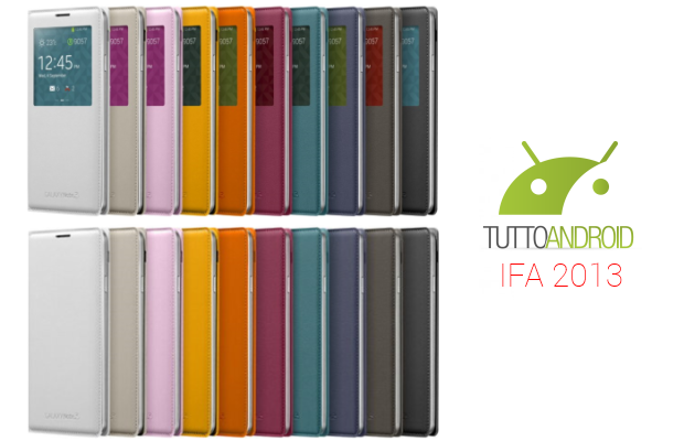 flip wallet s view cover note 3 ifa 2013