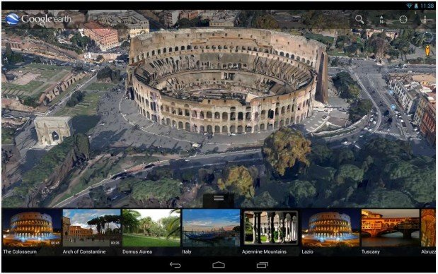 google-earth-android