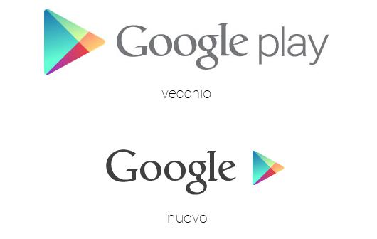 google play nuovo logo