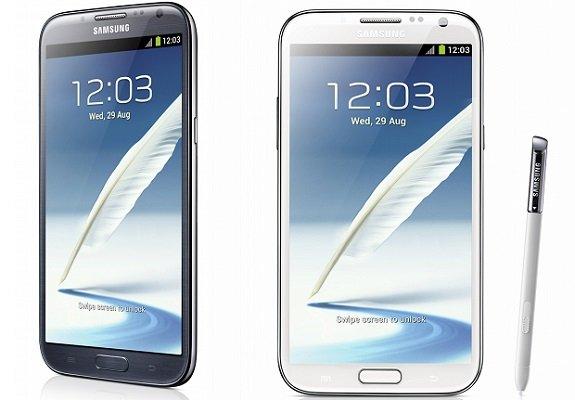 Samsung Galaxy Note 2, download del firmware di test di Android 4.3