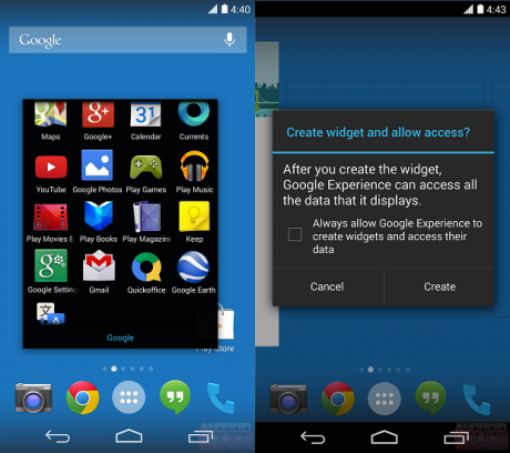 Google Experience Android 4.4 KitKat