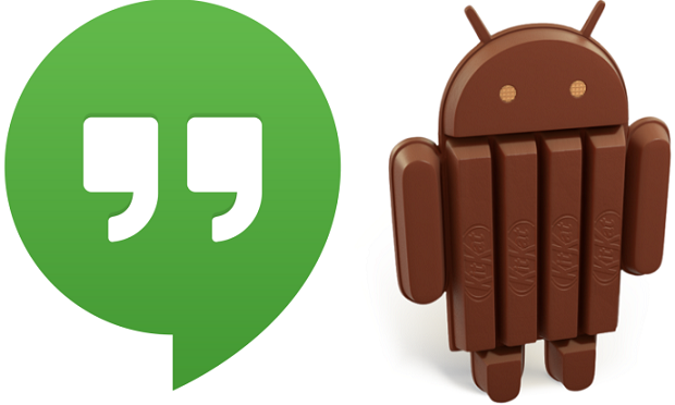 Hangouts SMS Android 4.4 KitKat