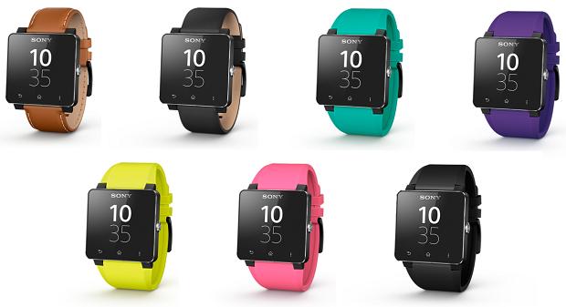 Smartwatch 2 cinturini colorati