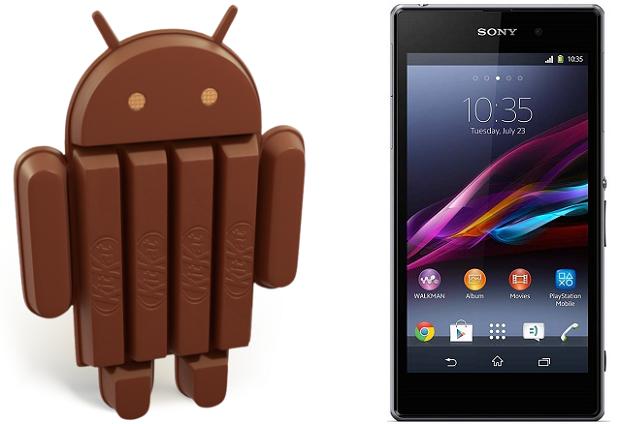 Sony Xperia Z1 Android 4.4 KitKat