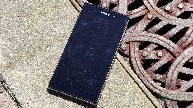 Sony Xperia Z1 Drop Test