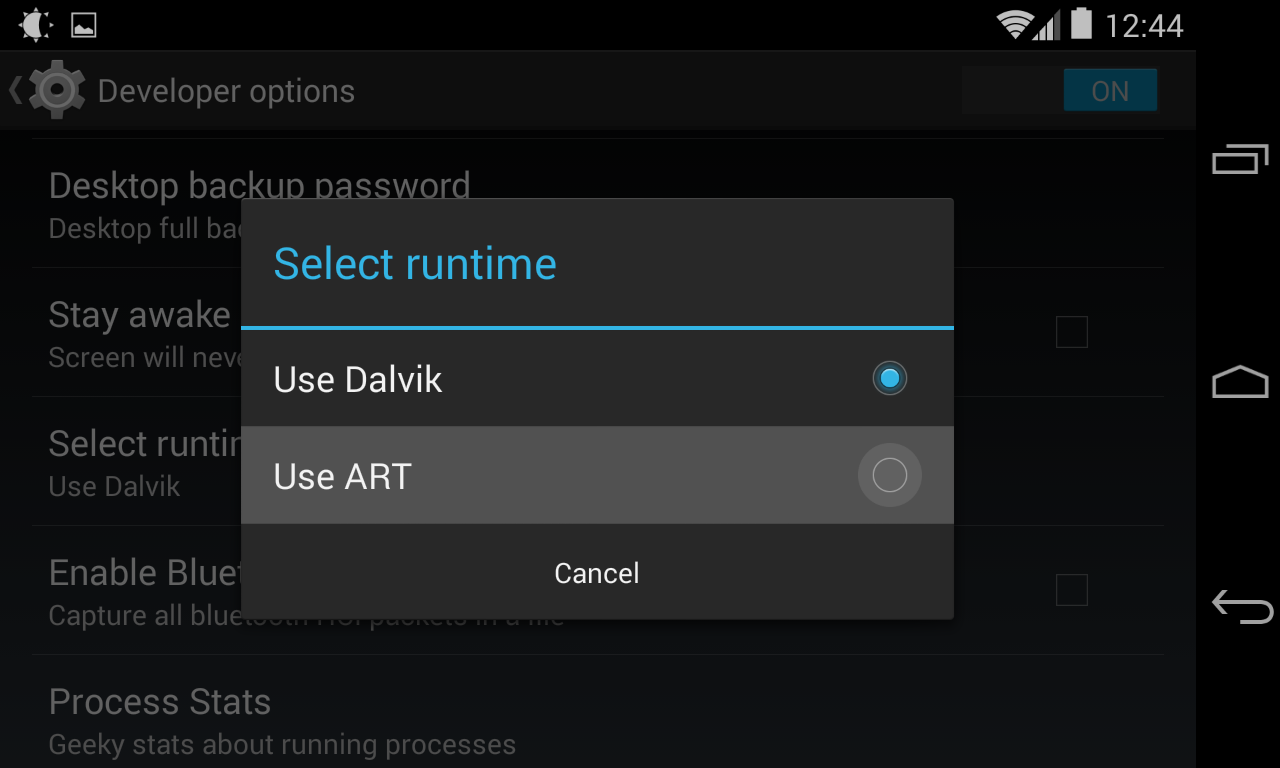Android-RunTime-ART