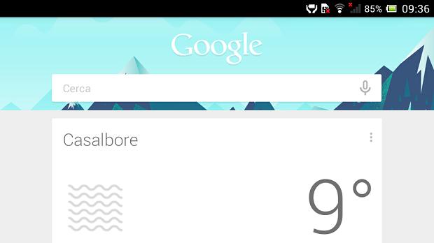 Google Now Italia
