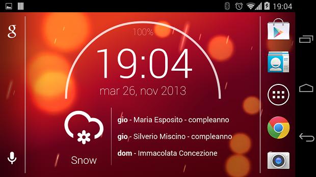 Minarch Zooper Widget Android