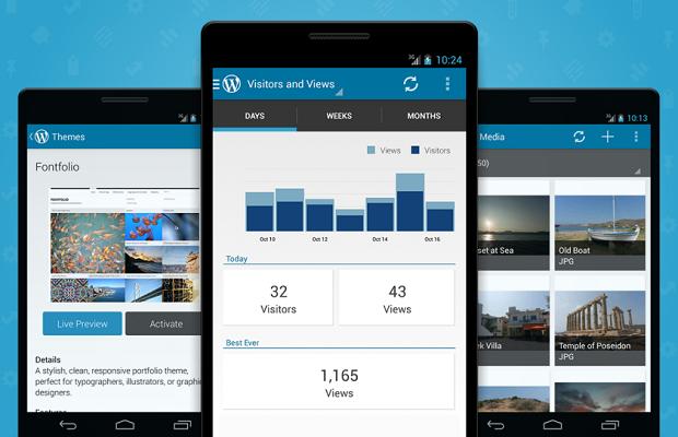 WordPress Android
