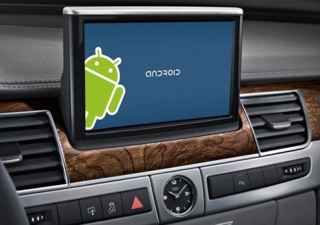Android in car auto vehicle