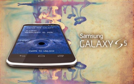 Samsung Galaxy S5 concept Bob Freking 1