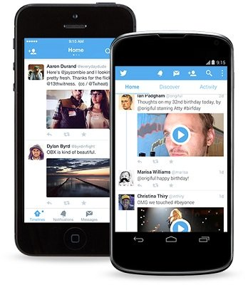 Twitter 5 Android