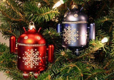 Android ornament both