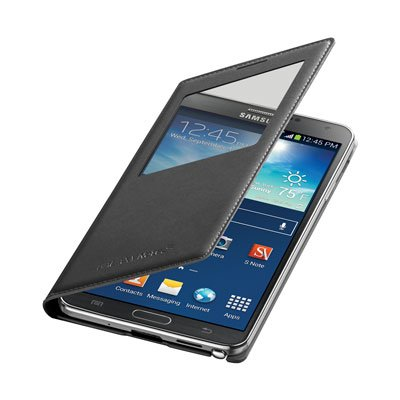 Samsung galaxy note 3 wireless view cover black