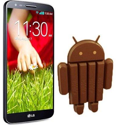 Android 4.4.2 KitKat LG G2